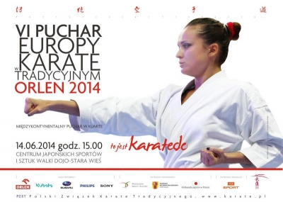 6TH TRADITIONAL KARATE ITKF EUROPEAN CUP ORLEN 2014 AND INTERCONTINENTAL KUMITE CUP 12-15 JUNE 2014 – STARA WIEŚ (POLAND).