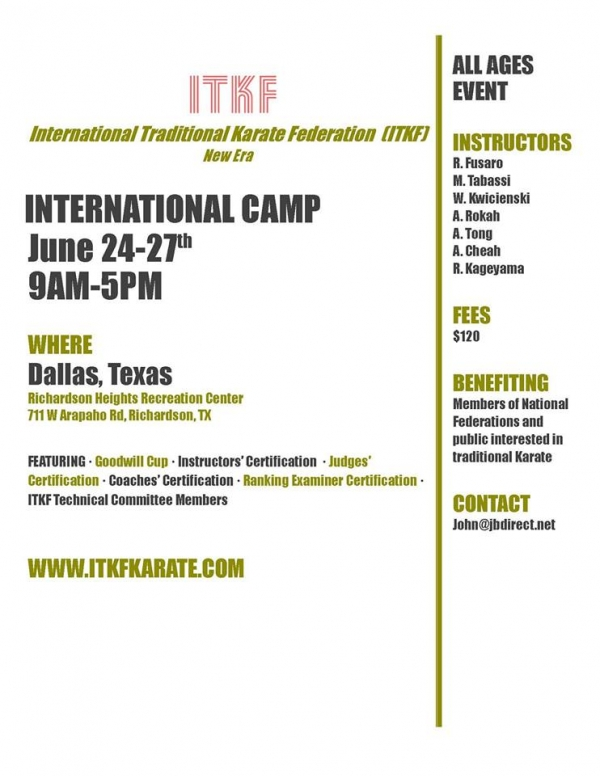 International Traditional Karate Camp